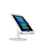 THE JOY FACTORY, INC ELEVATE II COUNTERTOP KIOSK WITH SECURE ENCLOUSURE FOR SURFACE PRO 4 & 3 (WHITE)