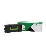 Lexmark 58D2U0E Toner black, 55K pages