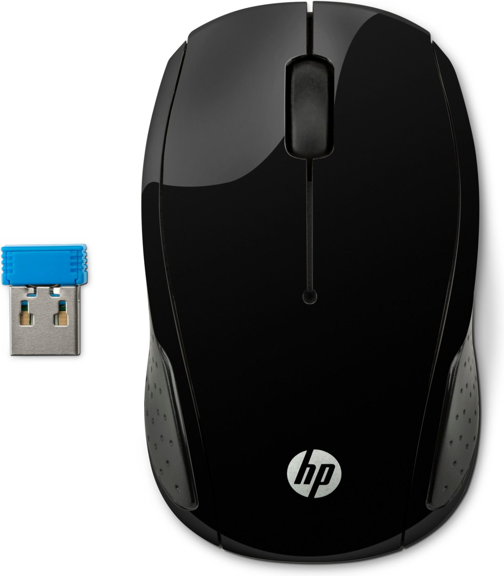 HP 200 mouse Ambidextrous RF Wireless Optical 1000 DPI