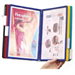 Durable 5567-00 Wall Portrait A4 document display carousel