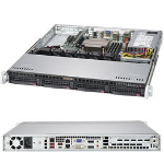 Supermicro SuperServer 5019C-MHN2 Intel C246 LGA 1151 (Socket H4) Rack (1U) Black