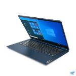 "Lenovo ThinkBook 14s Yoga DDR4-SDRAM Hybrid (2-in-1) 35.6 cm (14"") 1920 x 1080 pixels Touchscreen 11th gen Intel® Core™ i5 8 GB 256 GB SSD Wi-Fi 6 (802.11ax) Windows 10 Pro Blue"
