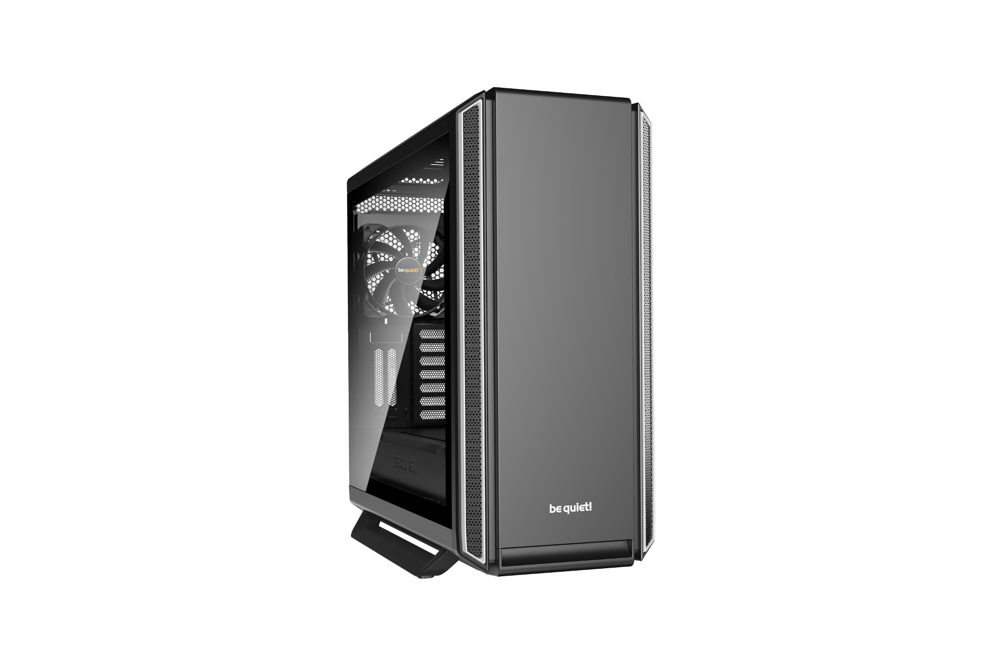 be quiet! Silent Base 801 Window Midi-Tower Black,Silver