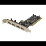 SYBA SD-VIA-5U Internal USB 2.0 interface cards/adapter