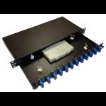Cablenet XXFLPP12LC4 1U patch panel