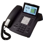 AGFEO ST 45 IP Wired handset LCD Black IP phone