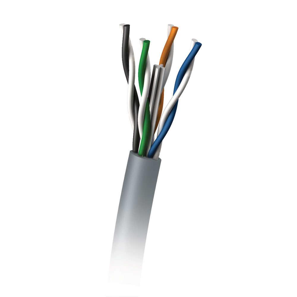 C2G 305M Cat6 350MHz UTP Solid PVC CMR Cable