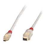 Lindy 25m FireWire 800 Transparent
