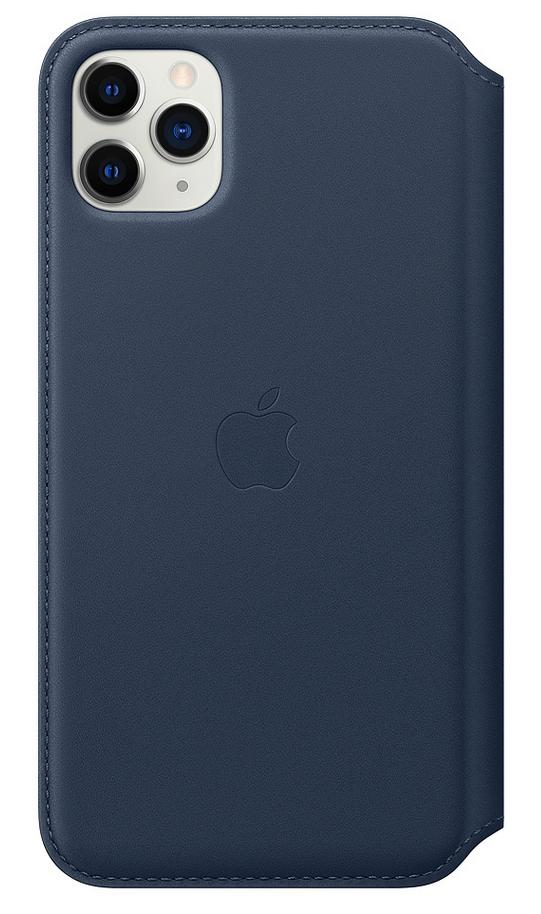 "Apple MY1P2ZM/A funda para teléfono móvil 16,5 cm (6.5"") Folio Azul"