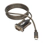 Tripp Lite U209-005-C 1.52m DB9 USB-C Black serial cable