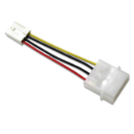 Addonics AA4PFFPCBL Internal Molex (4-pin) Black,Red,White,Yellow power cable