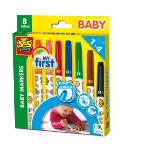 SES Creative My First - Baby markers 8 colours