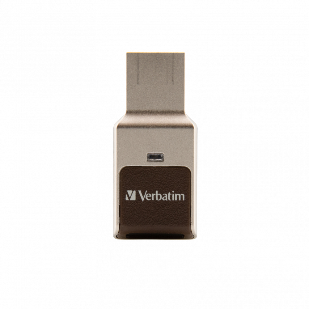 VERBATIM FINGERPRINT SECURE USB FLASH DRIVE 64 GB USB TYPE-A 3.2 GEN 1 (3.1 GEN 1) SILVER