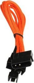 BitFenix Molex - 3 x 3-Pin Fan 12v 20cm Molex (4-pin) Black,Orange