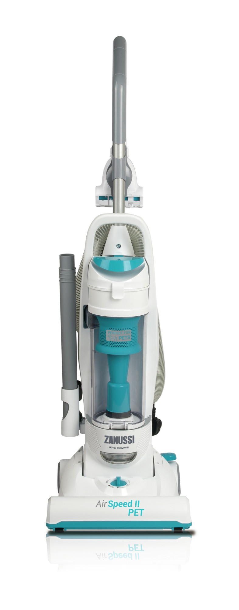 Zanussi ZAN2021PT stick vacuum/electric broom Bagless 3.5 L Black, Grey, White
