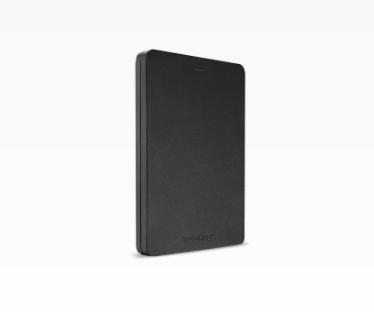 Toshiba Canvio Alu 2 TB external hard drive 2000 GB Black