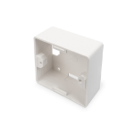 Digitus Surface Mountbox 80x80 mm for Keystone Walloutlet, German Type