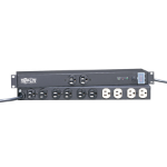 "Tripp Lite IBAR12/20ULTRA Isobar Surge Suppressor 12 AC outlet(s) 120 V Black 181.1"" (4.6 m)"