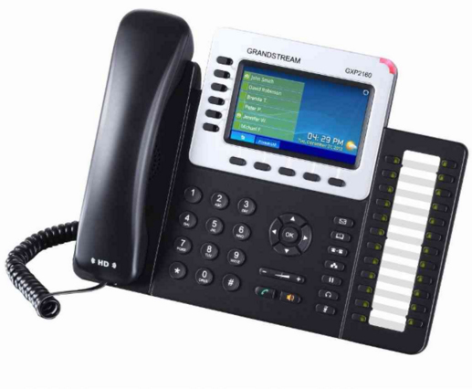 Grandstream Networks GXP2160 Wired handset 6lines LCD IP phone