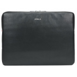 "Mobilis PURE SLEEVE notebook case 35.6 cm (14"") Sleeve case Black, Silver"