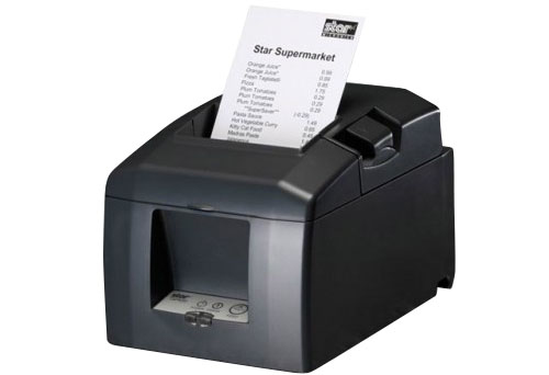 TSP654SK-24 w/o I/F - receipt printer - Thermal - 80mm - No Interface - Grey - No Power Supply