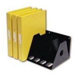 ROTADEX A4 RINGBINDER FILING RACK BLACK