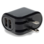 AddOn Networks USAC22USB12WB mobile device charger Black Indoor