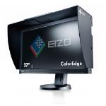 Eizo 27 Inch LED Monitor, 2560 x 1440, Height Adjustable, HDMI, DisplayPort, USB and DVI