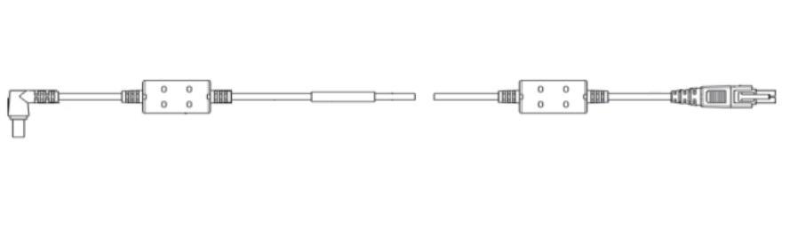Zebra CBL-DC-385A1-01 barcode reader accessory