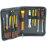 Manhattan Basic Computer Tool Kit, Computer Tool Kit, 13 pieces, Carry Pouch