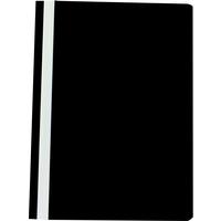 Q-Connect Project Folder A4 Black Pk25