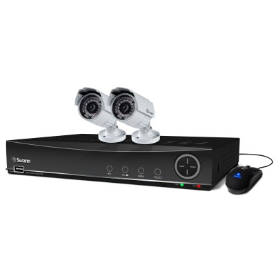 Swann DVR4-4100 4 Channel 960H Digital Video Recorder & 2 x PRO-842 Cameras