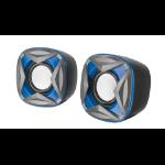 Trust Xilo Compact 2.0 4W Black,Blue loudspeaker