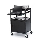 Bretford CA2642NS-E5 Multimedia cart Black multimedia cart/stand