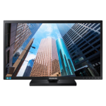 "Samsung LS24E65KBWV/XY LED display 61 cm (24"") WUXGA Flat Black"