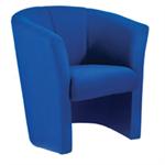 Avior Tub Fabric Chair Blue