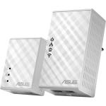ASUS Asus PL-N12 Kit Powerline Network Adapter - 2 x Network (RJ-45) - 500