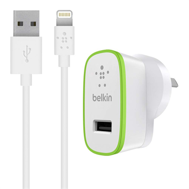 Belkin BOOST↑UP Indoor Green, White mobile device charger