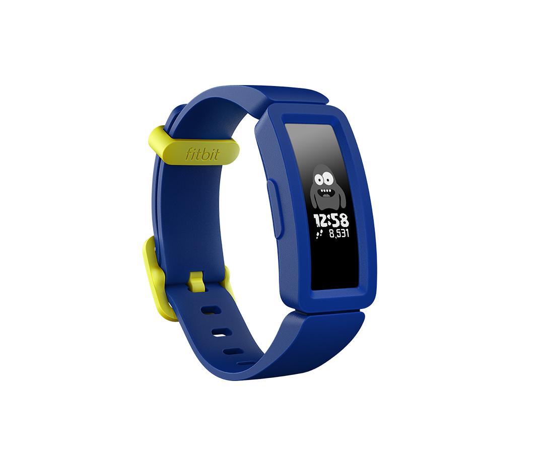 Fitbit Ace 2 Pulsera de actividad Azul, Amarillo OLED