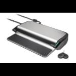 Kensington LD4650P Bedraad USB 3.2 Gen 1 (3.1 Gen 1) Type-C Zwart, Zilver