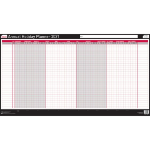 Sasco 2410142 wall planner Black,White 2021