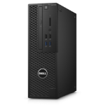 DELL Precision T3420 3.6 GHz 7th gen Intel® Core™ i7 i7-7700 Black SFF Workstation