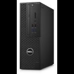 DELL Precision T3420 3.3GHz E3-1225V6 SFF Black Workstation