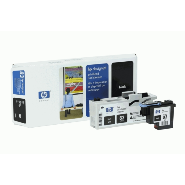 HP C4960A (83) Printhead black, 13ml