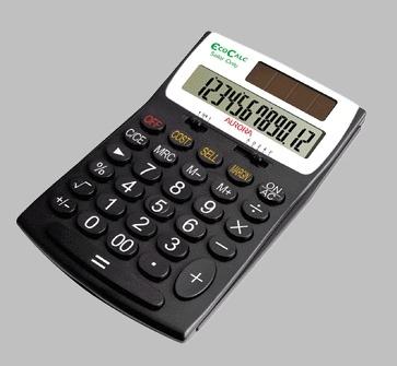Aurora EC505 calculator Desktop Black