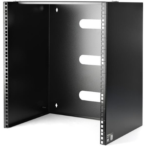 StarTech.com Wall-Mount Bracket for Shallow Rack-Mount Equipment - Solid Steel - 12U