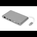 Digitus DA-70875 notebook dock/port replicator Wired USB 3.2 Gen 1 (3.1 Gen 1) Type-C Grey