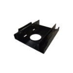 "Dynamode SSD-RAIL drive bay panel 2.5"" Black"