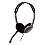 V7 HA212-2EP headphones/headset Head-band Black,Silver