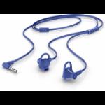 HP 150 mobile headset Binaural In-ear Blue